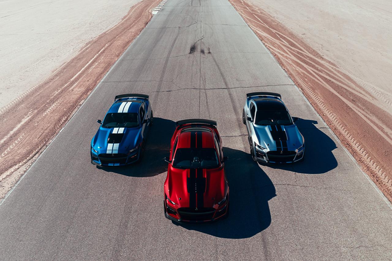 Bilder Ford 2019 Mustang Shelby GT500 Autos Drei 3