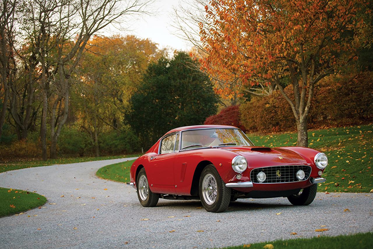 Desktop Wallpapers Cars Ferrari 1961 63 250 Gt Berlinetta Passo