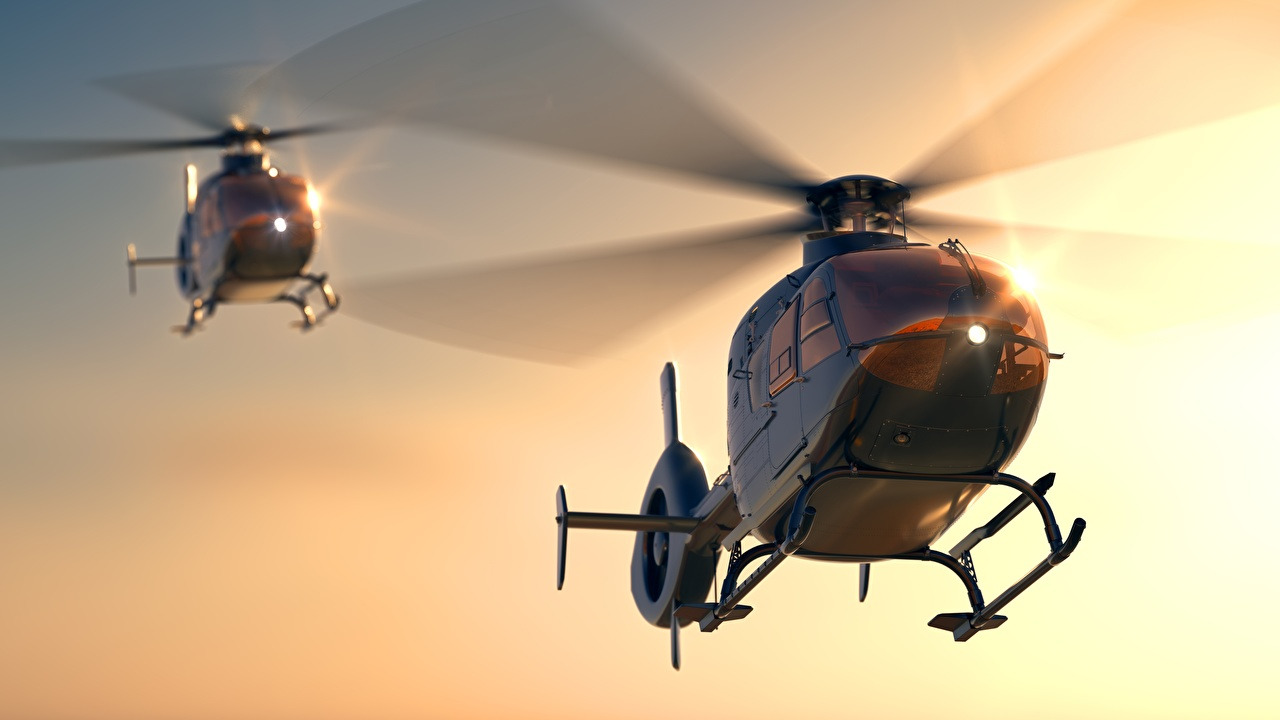 Foto Hubschrauber Eurocopter EC 135 2 Luftfahrt Zwei