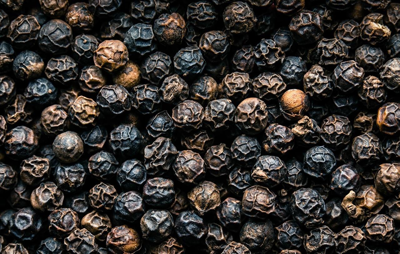 Foto Textur Schwarzer Pfeffer das Essen Großansicht Lebensmittel hautnah Nahaufnahme