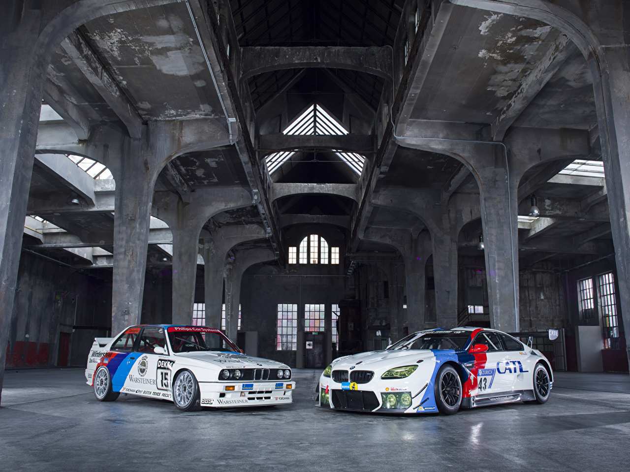 Pictures BMW Tuning M6 E30 2 White Cars Two auto automobile