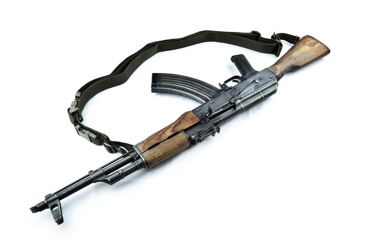 Pictures Kalashnikov Assault rifle Closeup Army
