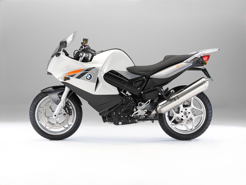 Fotos von BMW - Motorrad Motorrad Silber Farbe Seitlich Motorräder