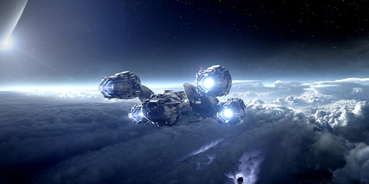 壁紙 プロメテウス 船 映画 宇宙空間 ダウンロード 写真