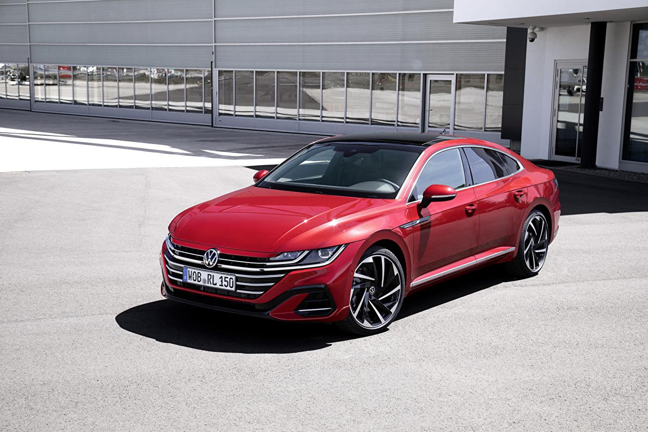 Fotos von Volkswagen 2020 Arteon R-Line Worldwide Rot auto Autos automobil
