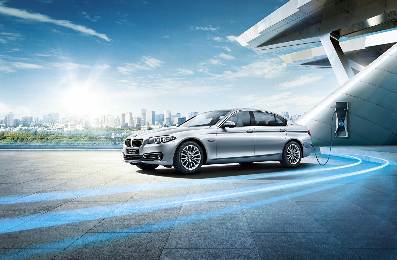 Wallpaper BMW F18 Sedan Cars auto automobile