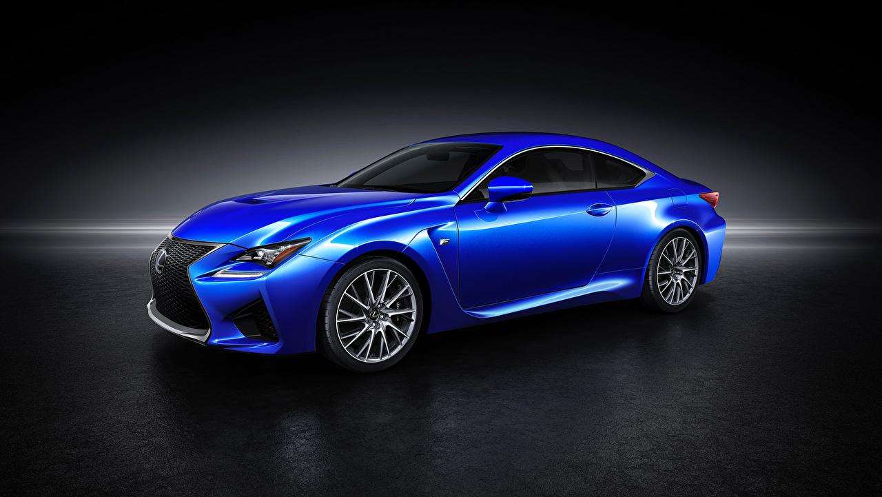 Lexus 2015 RC F Azul Metálico autos, automóvil, automóviles, el carro Coches