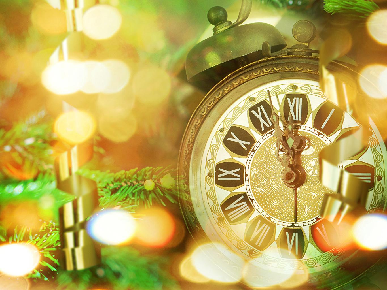 Images New year Clock Alarm clock Holidays Christmas