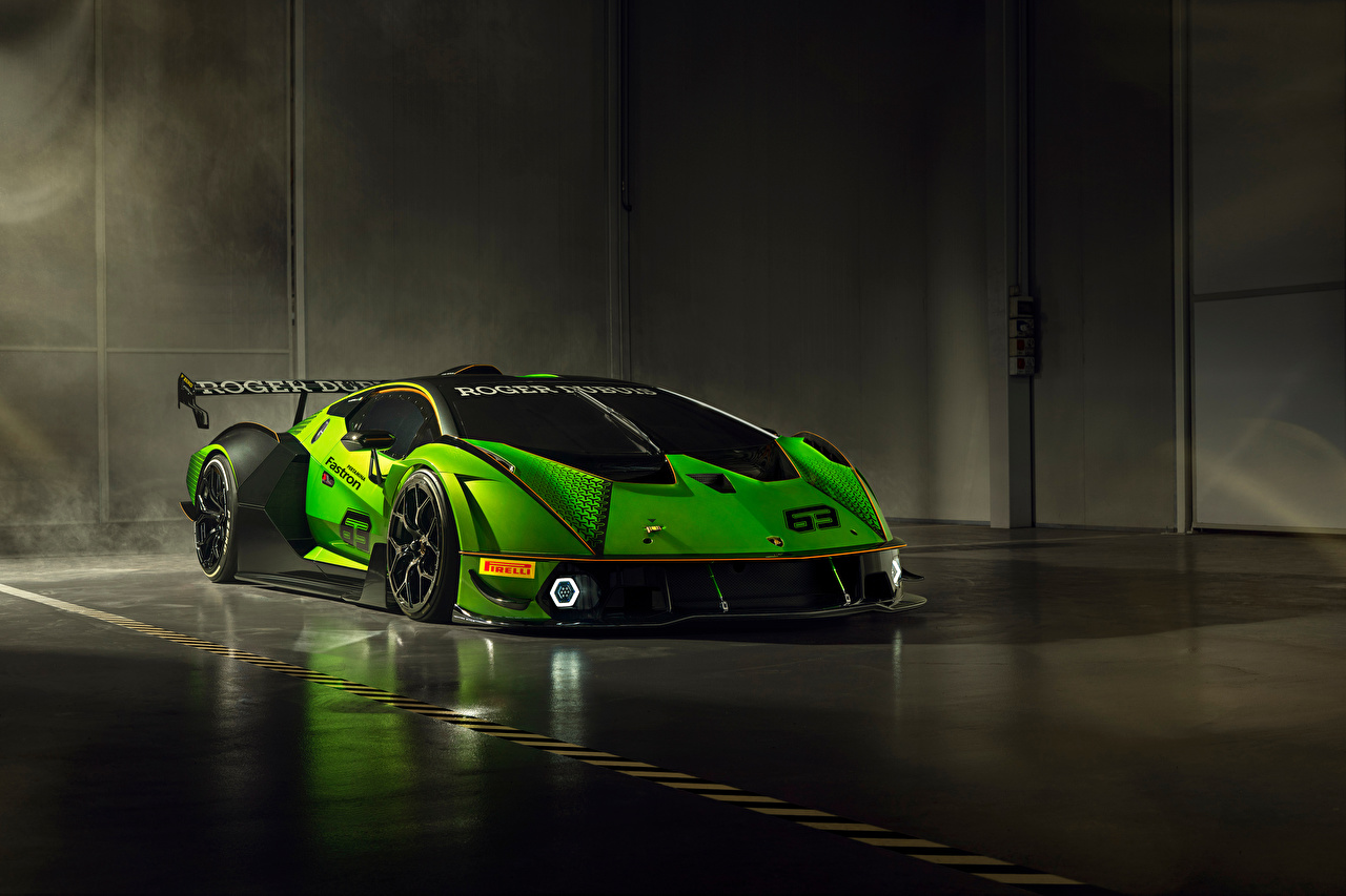 Photo Lamborghini Essenza SCV12, 2020 Green Cars auto automobile