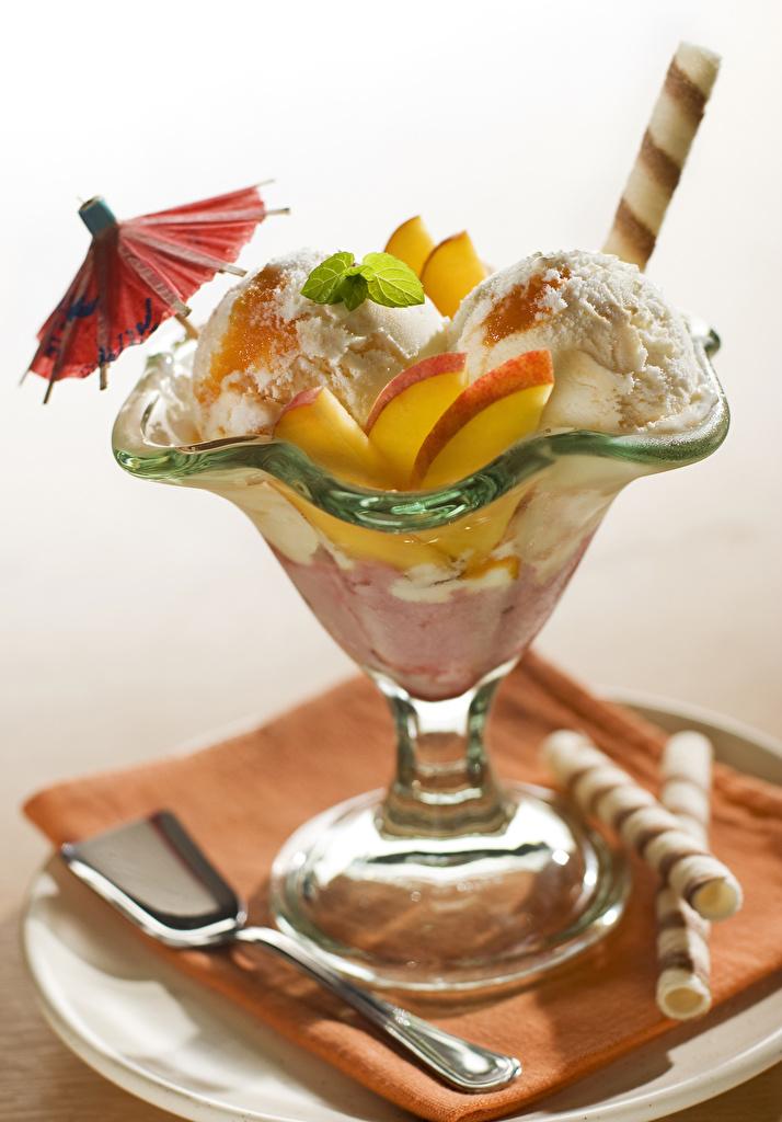 Pictures Ice cream Food Fruit parasol  for Mobile phone Umbrella