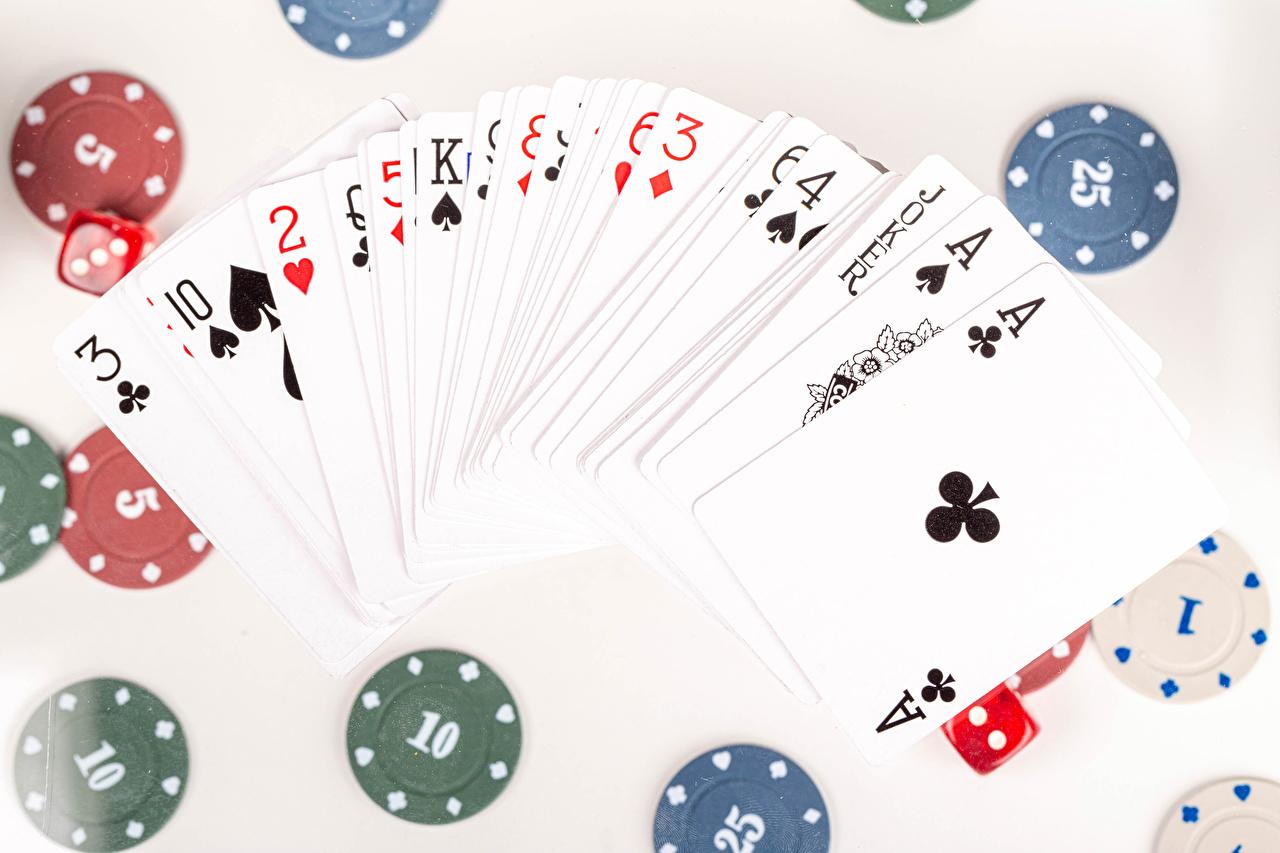 Bilder Casino-Chips Ass Spielkarte Spielkarte