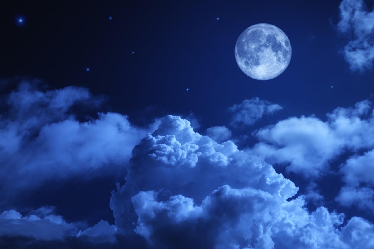 Обои Облака, ночь. Природа foto 13