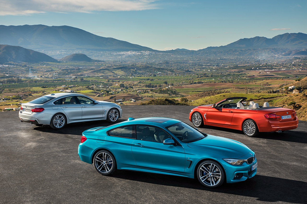 Picture BMW 2013-17 Serie 4 Convertible Cars Three 3 Cabriolet auto automobile