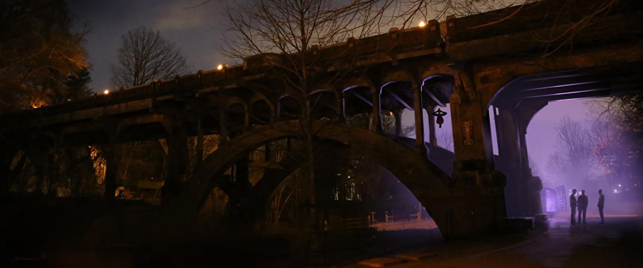 Wallpaper Spider-Man: Homecoming bridge film night time Bridges Movies Night