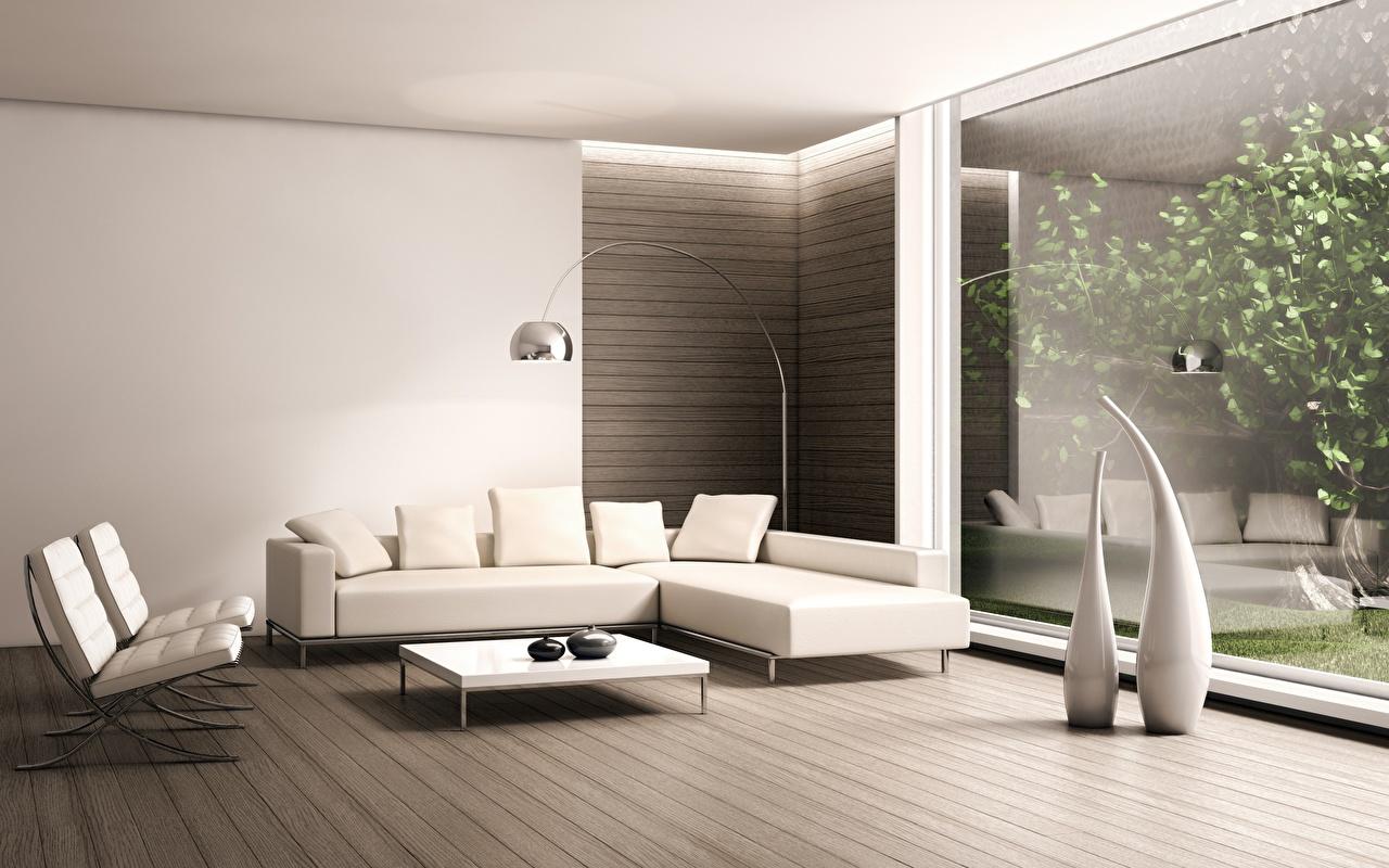 壁紙 インテリア 部屋 ソファ ハイテク建築 3dグラフィックス ダウンロード 写真