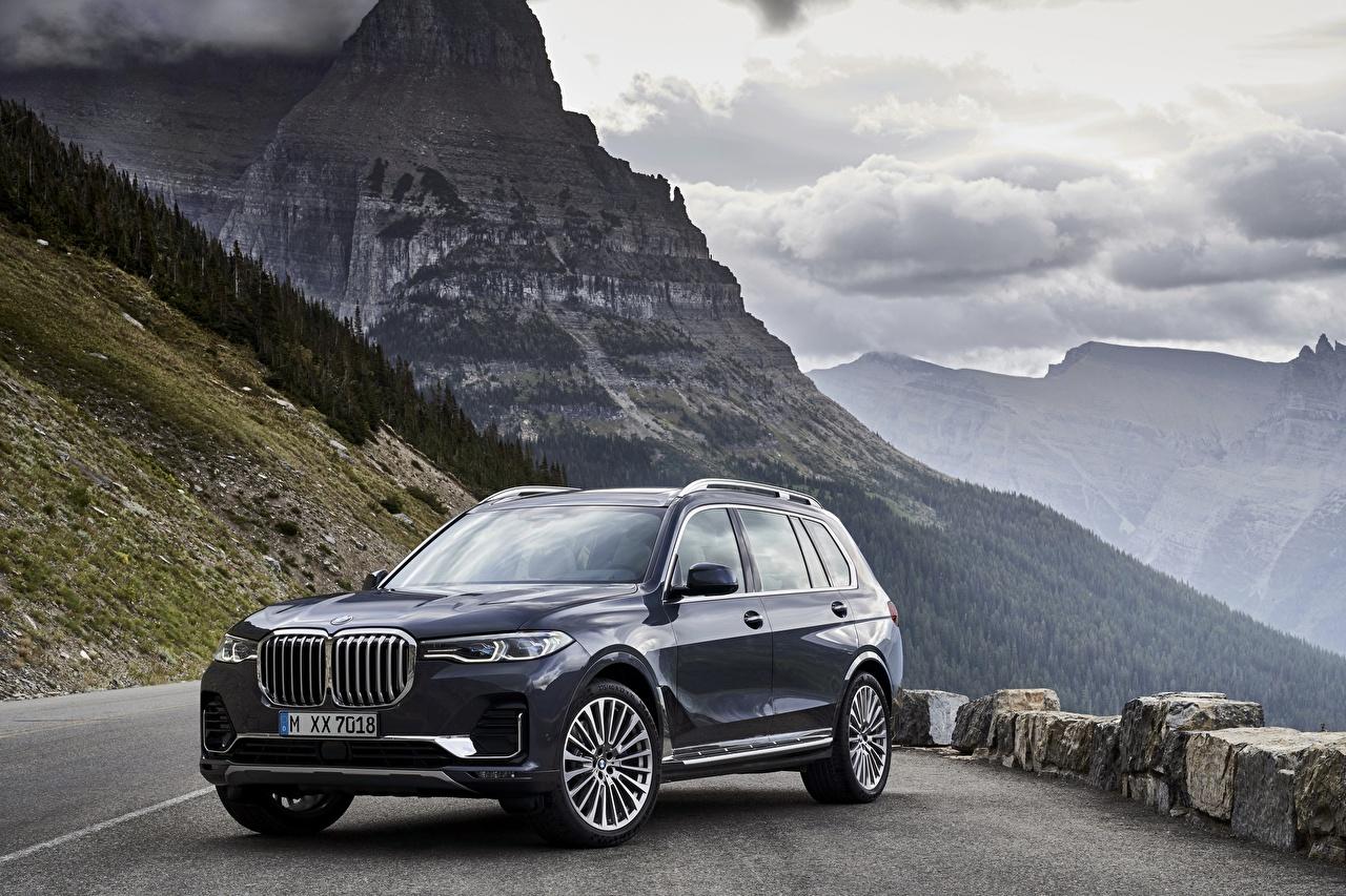 Picture BMW CUV 2019 X7 G07 Cars Metallic Crossover auto automobile
