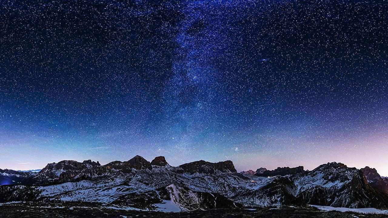 壁紙 天の川 山 空 恒星 自然 ダウンロード 写真