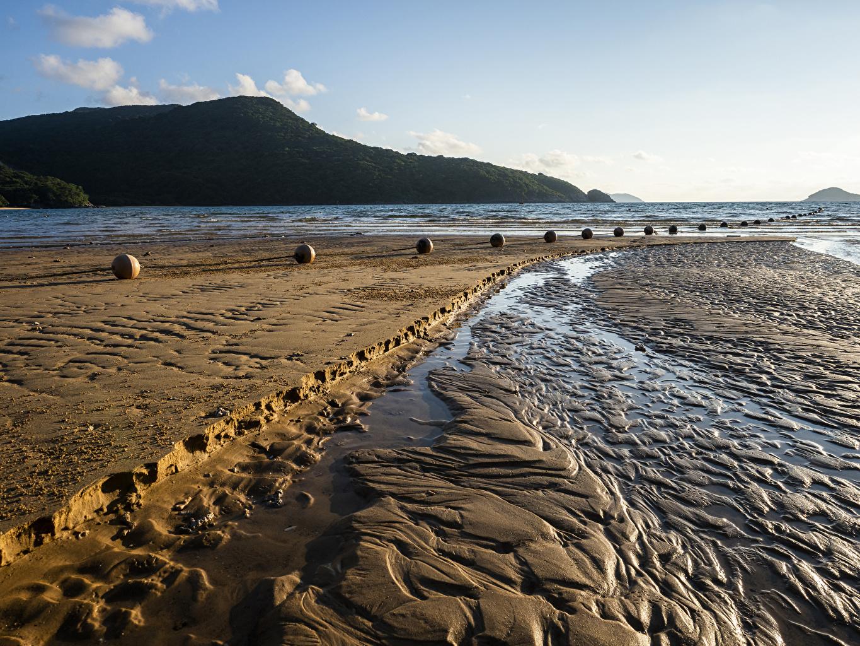 Foto Vietnam Ba Ria-Vung Tao Natur Sand Bucht Küste