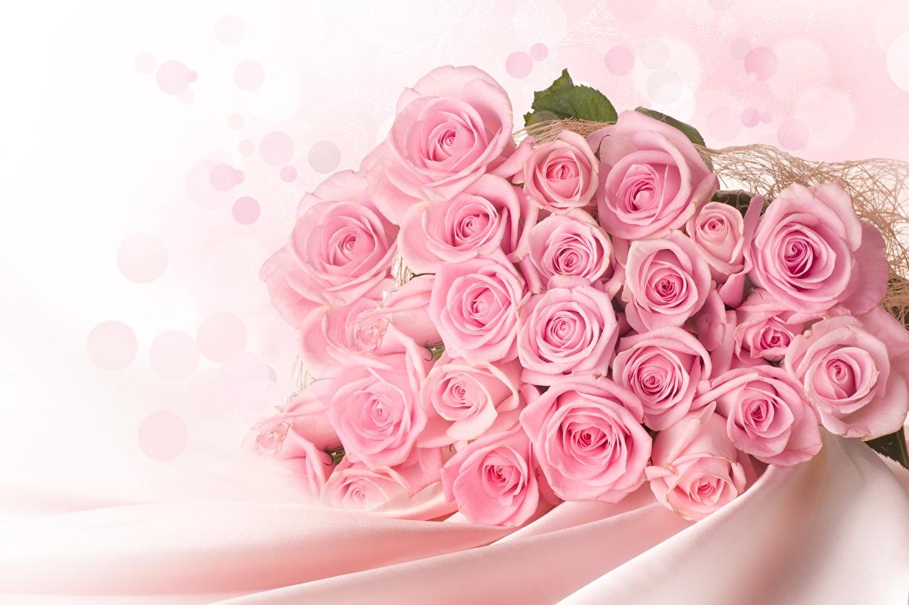 壁紙 バラ ブーケ ピンク 花 ダウンロード 写真