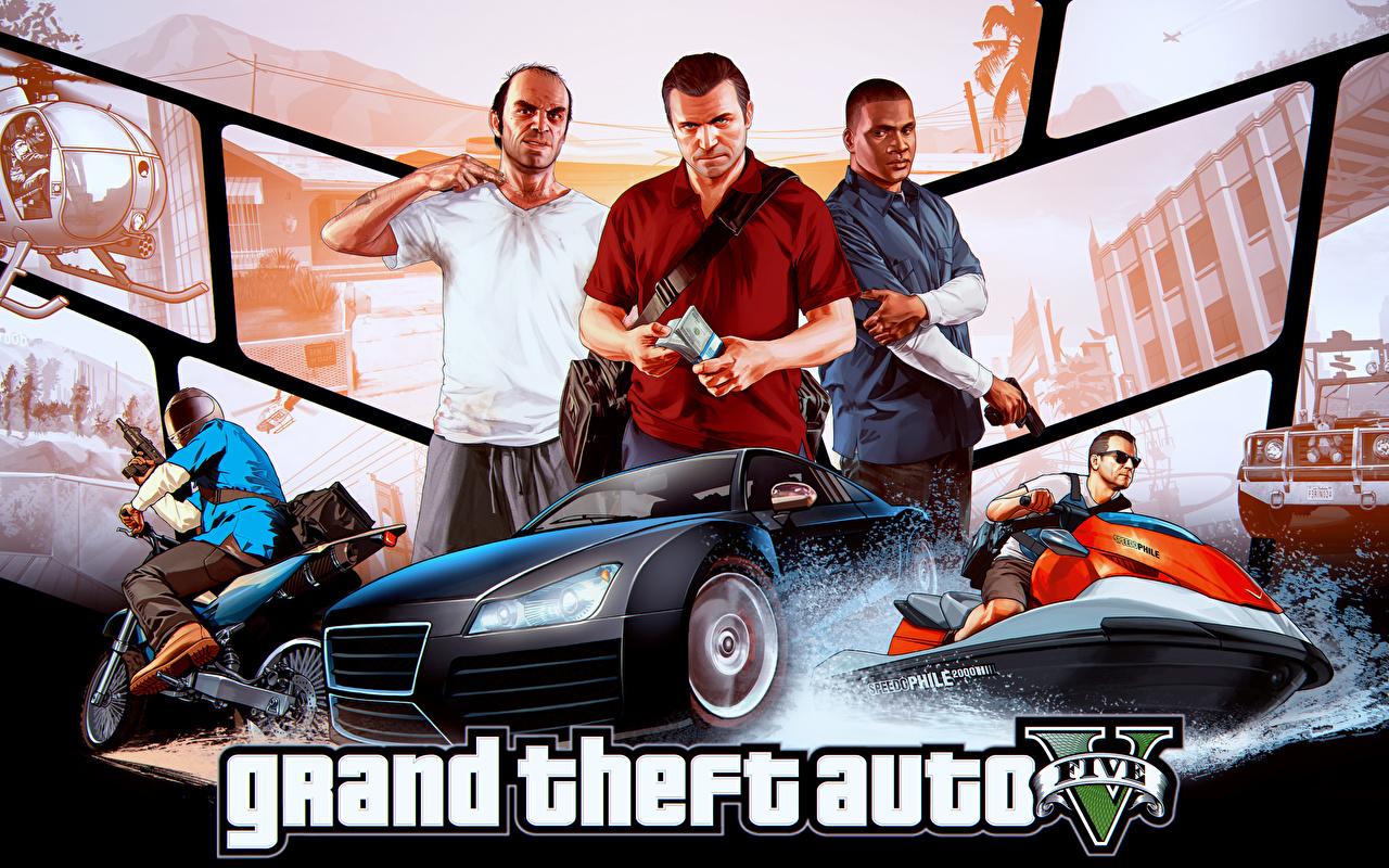 Achtergronden bureaublad GTA 4 Grand Theft Auto Mannen videogames een man computerspel Computerspellen