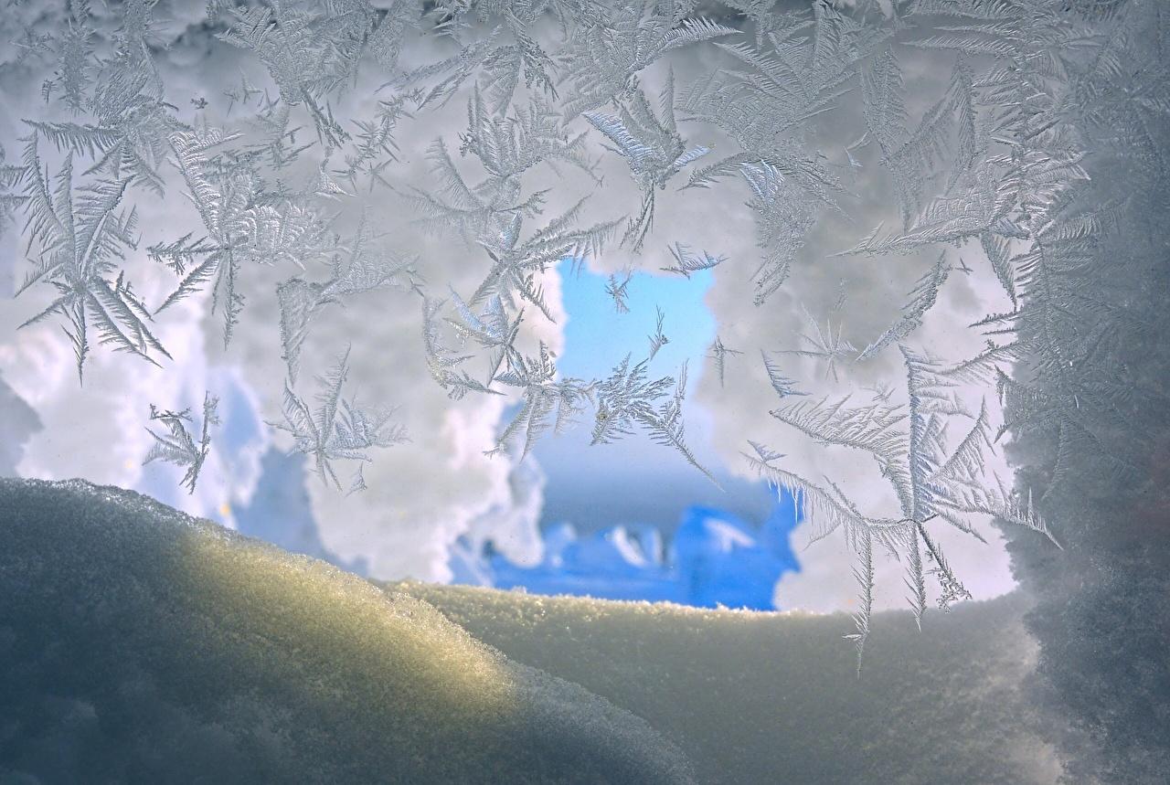 Pictures Ice Winter Nature Snow Closeup