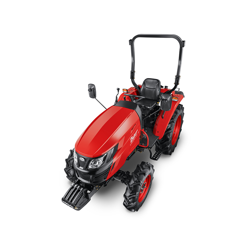 Pictures Tractor Zetor Compax CL 35, 2020 Red From above White background tractors