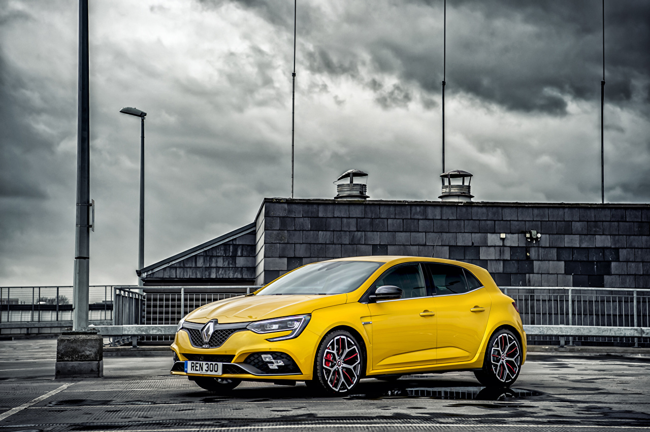 Desktop Wallpapers Renault Yellow Cars auto automobile