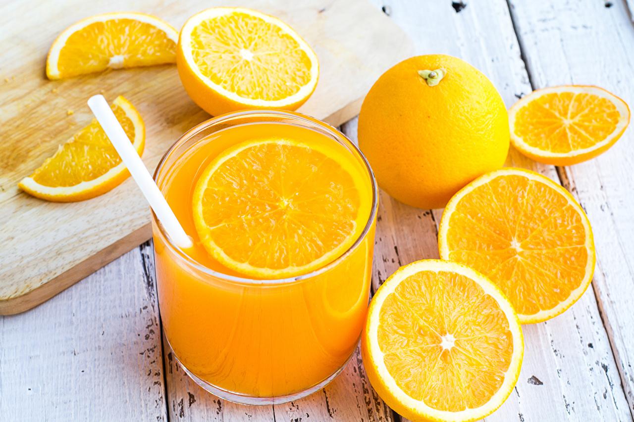 Fotos von Saft Apfelsine Trinkglas Lebensmittel Fruchtsaft Orange Frucht