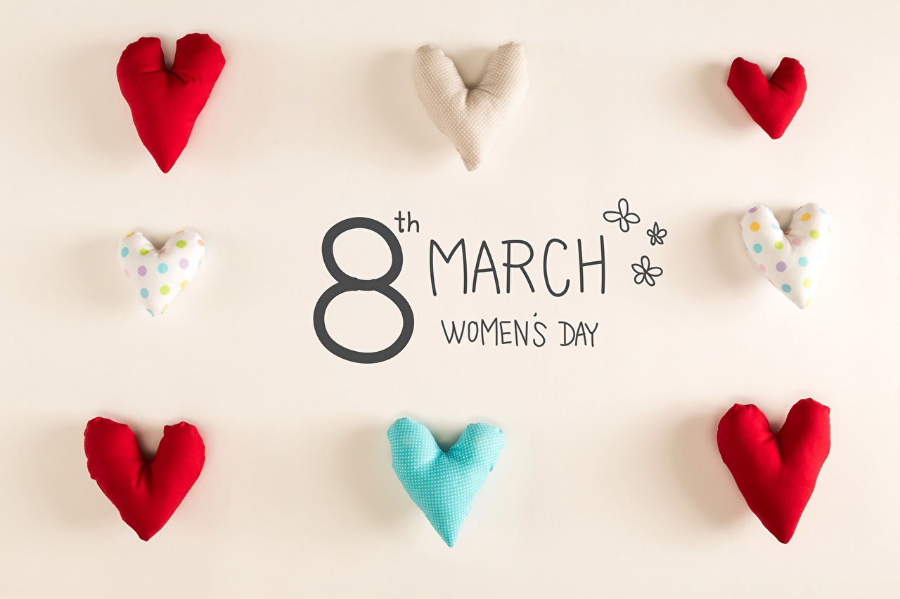Photos March 8 English Heart International Women's Day