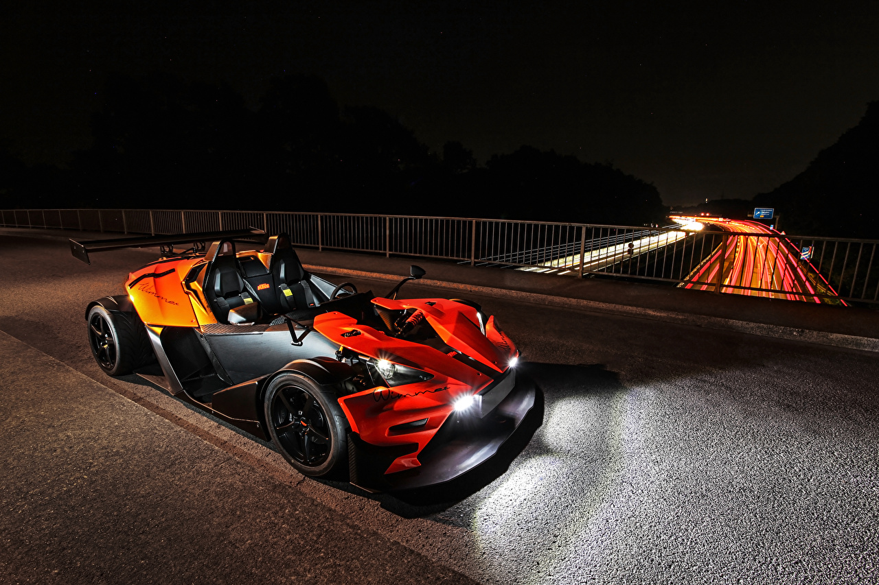 Picture KTM Cars 2018-19 Wimmer RS X-Bow R Orange Cars auto automobile