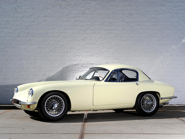 Images 1957 Lotus Elite Retro White Side automobile vintage antique Cars auto