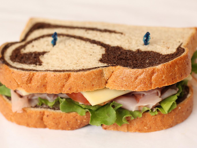 Bilder von Lebensmittel Brot Fast food Butterbrot Sandwich das Essen