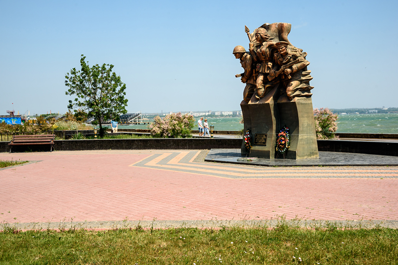 Foto Krim Russland Denkmal Kerch Städte