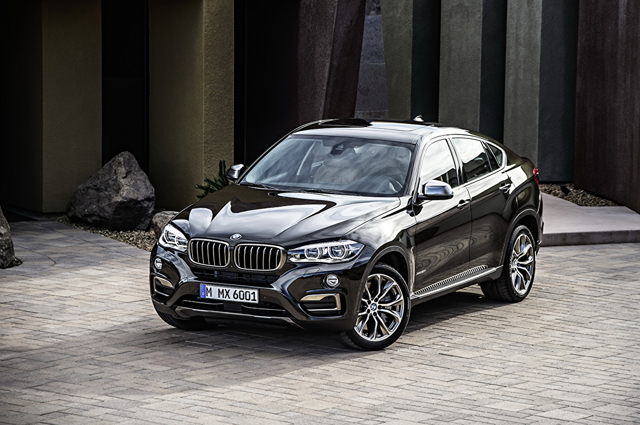 Images BMW 2014 X6 F16 xDrive50i Black Metallic automobile Cars auto