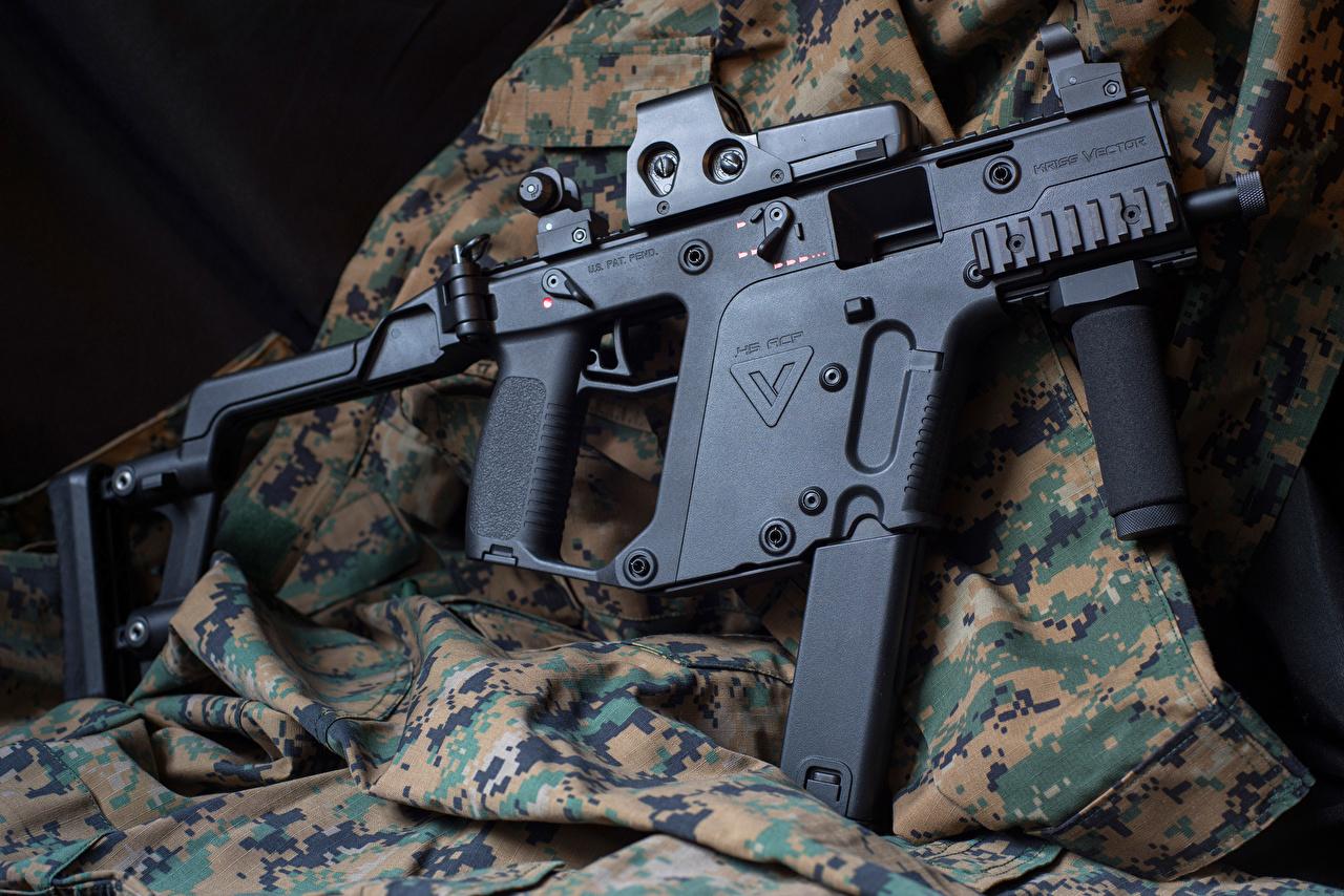 壁紙 1280x854 機関銃 Kriss Vector Super V 陸軍 ダウンロード 写真