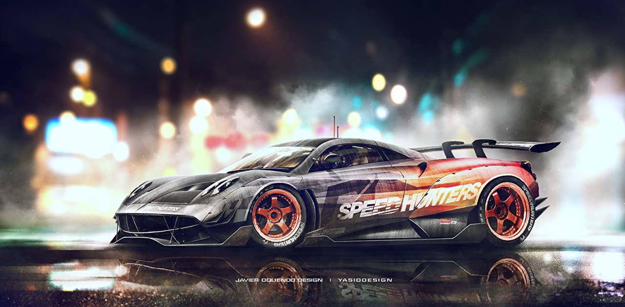 Photo Need for Speed Pagani Tuning Huayra Speedhunters Yasid Design Games Side Cars vdeo game auto automobile