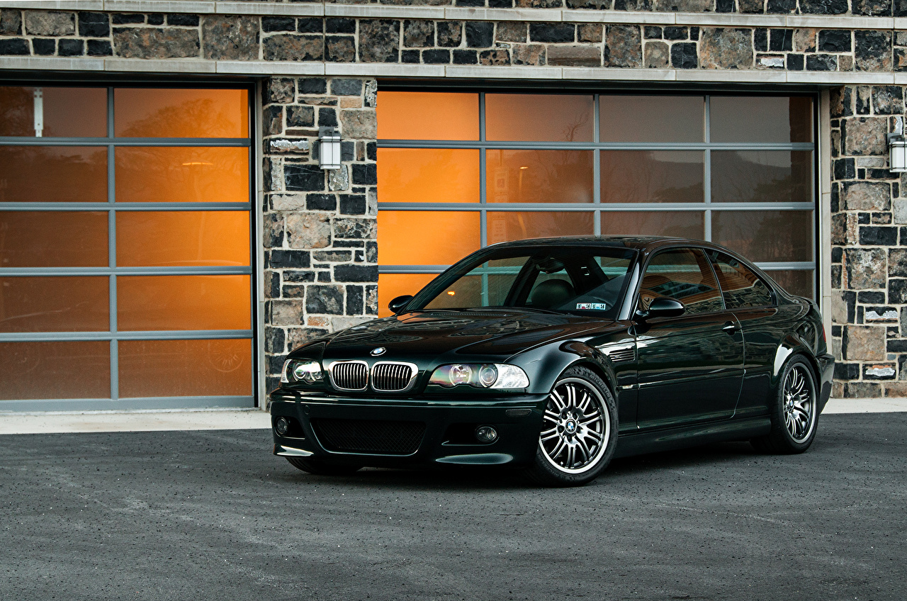 Wallpapers Bmw E46 M3 Black Cars