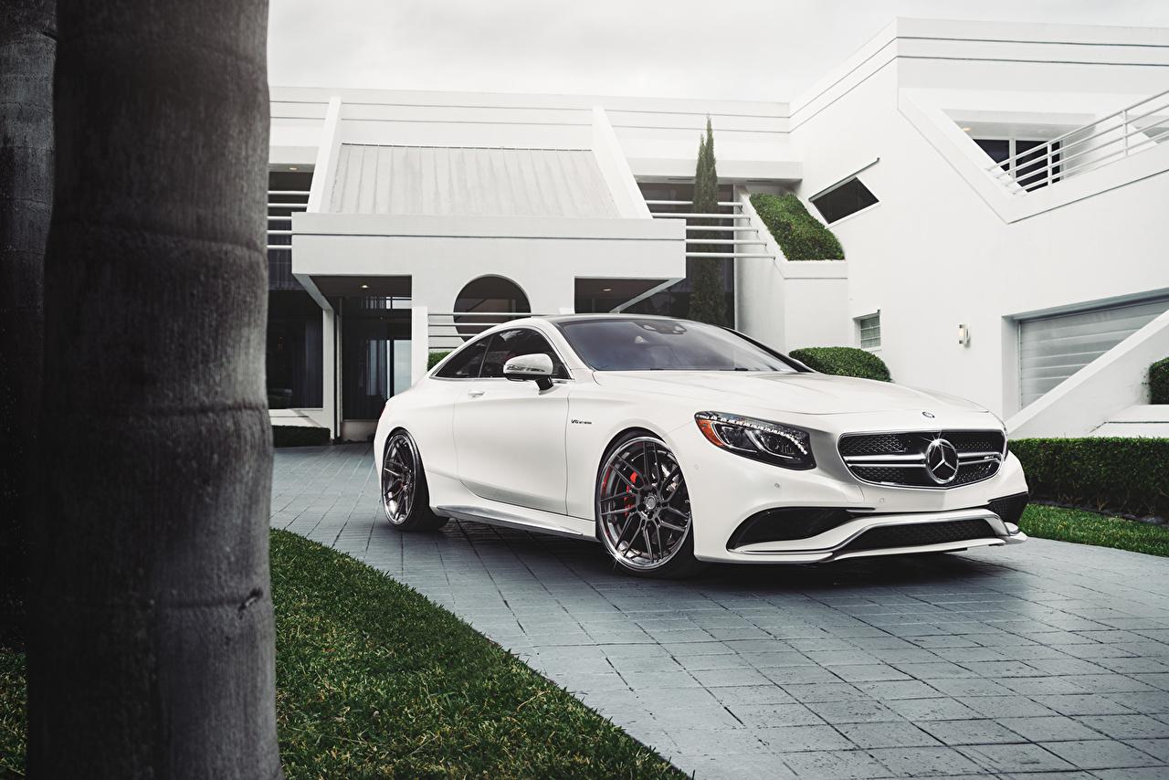 Desktop Wallpapers Mercedes Benz S63 Amg White Auto