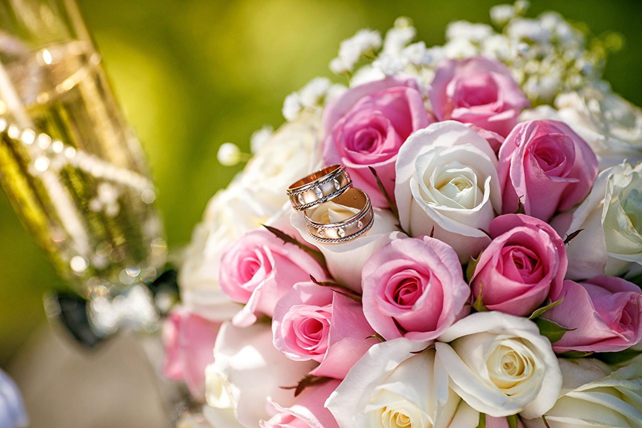 壁紙 バラ ブーケ 指輪 結婚式 花 ダウンロード 写真