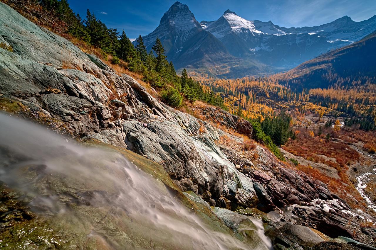 foto de Fonds d'ecran USA Automne Parc Montagnes Forêts Photographie de ...