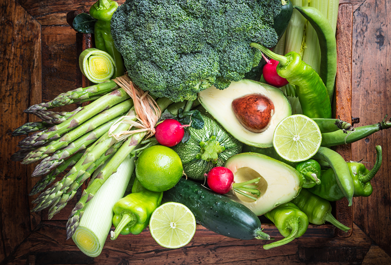 Диета овощная растительная