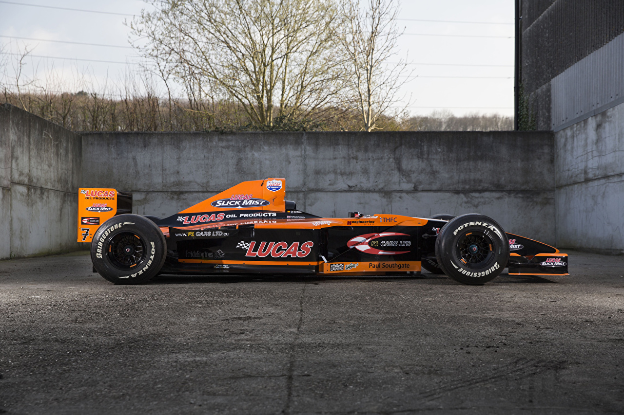 Fotos 2000 Arrows A21 Sport Orange Formula 1 Autos Seitlich