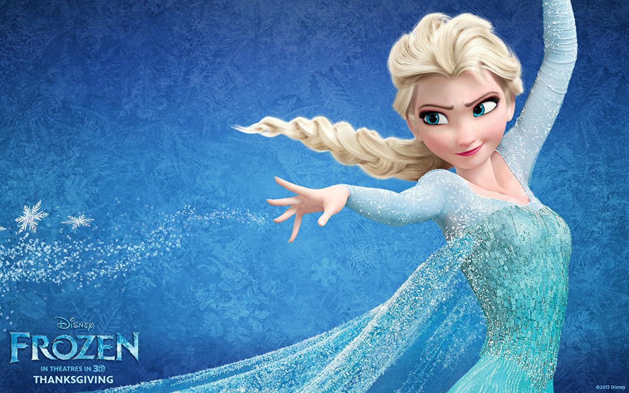壁紙 ディズニー アナと雪の女王 ブロンドの女の子 三つ編み 漫画