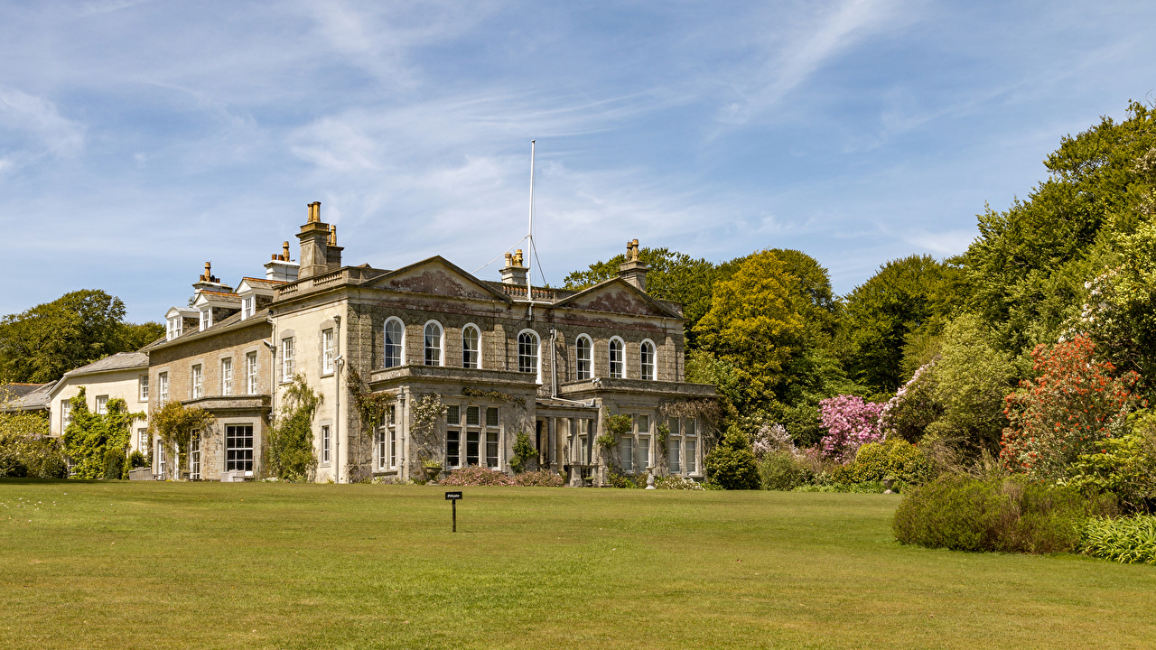 Images United Kingdom Trengwainton House and Garden in Madron Mansion Lawn Houses Cities Building