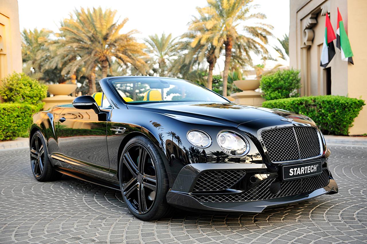 Fondos De Pantalla Bentley Startech Continental Gt Negro Lujo Coches Descargar Imagenes