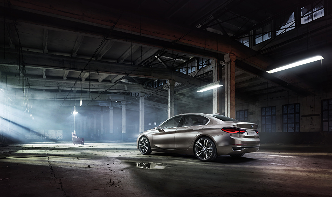 Pictures 2015 BMW Concept Compact Sedan Cars auto automobile