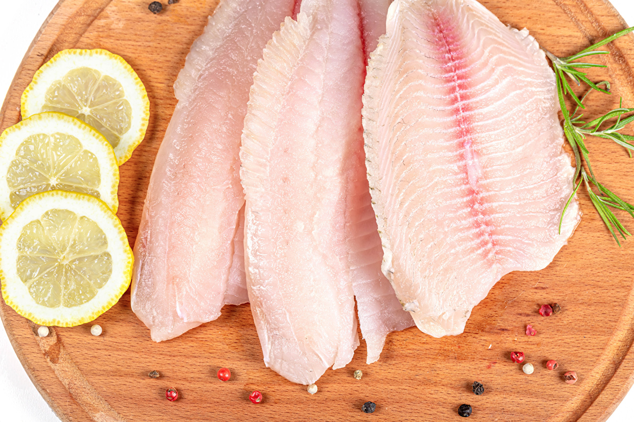 Images Black pepper Lemons Fish - Food Food Cutting board