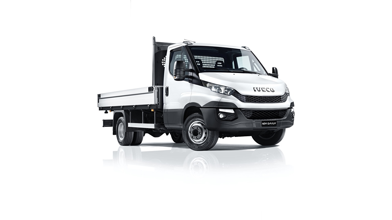 Images IVECO Trucks Daily automobile White background lorry Cars auto
