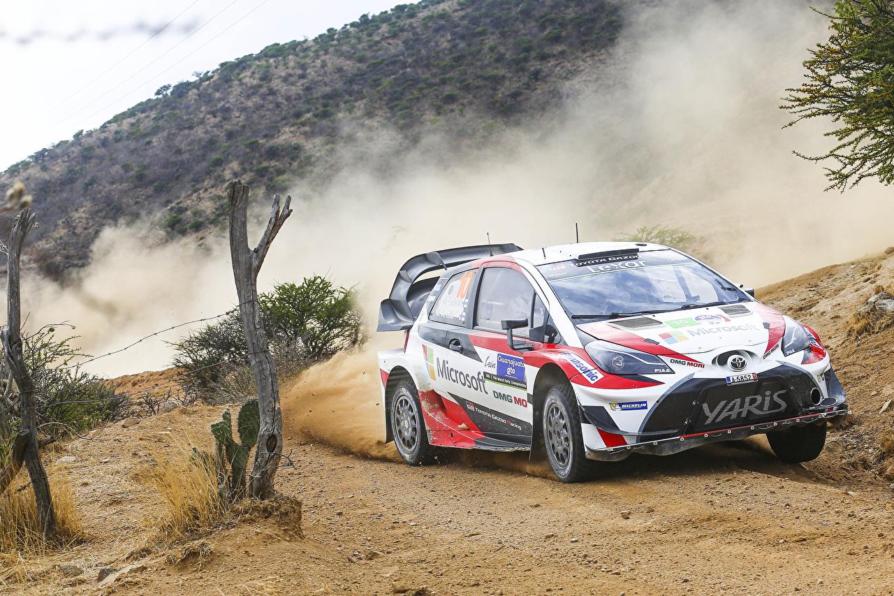 Wallpaper Toyota Tuning Rallying 2017 Yaris WRC (XP130) automobile Cars auto