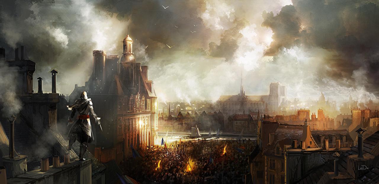Assassin's Creed Assassin's Creed Unity Paris jeu vidéo Jeux Villes